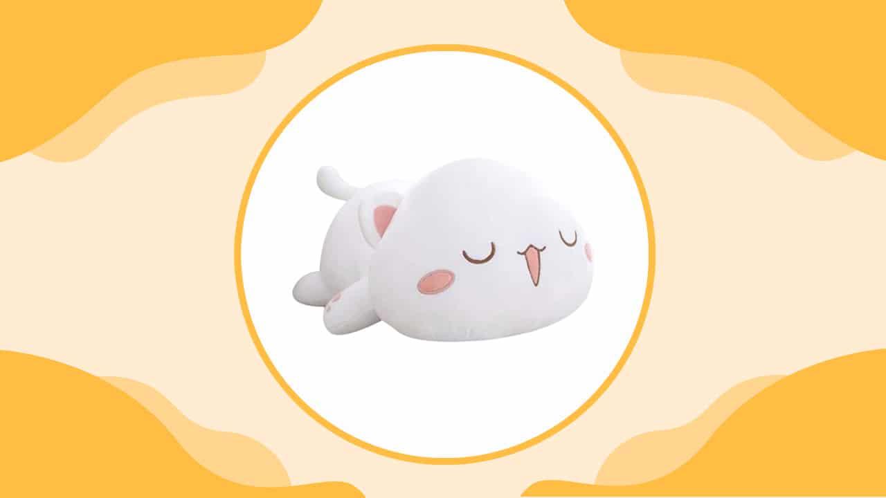 Anime Kitty Body Pillow for Girls
