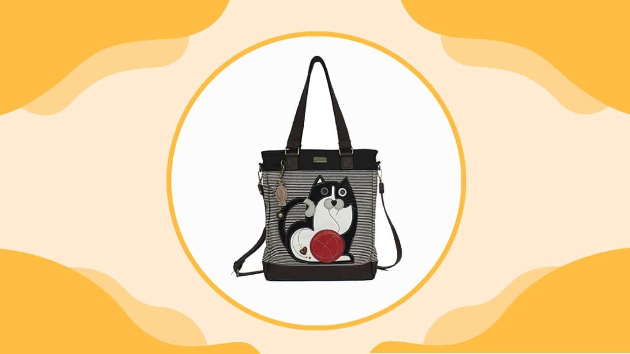 Chala Black Cat Handbag